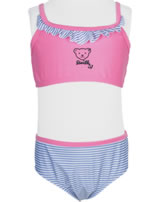Steiff Bikini NAVY HEARTS pink carnation 2014609-3019