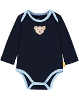 Steiff Body Langarm BEAR BLUES black iris 2011238-3032