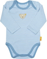 Steiff bodysuit long sleeve BEAR CREW stripes forever blue 2012101-6027
