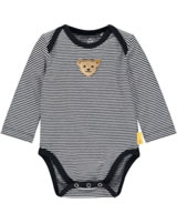 Steiff bodysuit long sleeve BEAR CREW stripes steiff navy 2012101-3032
