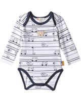 Steiff Body Langarm COSY BLUE bright white 1921320-1000