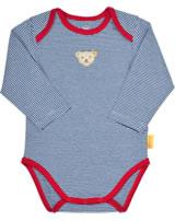 Steiff Baby bodysuit COSY BLUE tango red 1921320-4008
