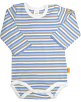 Steiff Baby bodysuit ESSENTIALS baby blue 6845043-3023