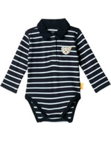 Steiff Baby bodysuit BLUE WINTER black iris 1922107-3032