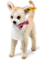 Steiff Chihuahua Chilly 16 cm beige/weiß stehend 045028
