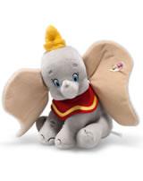 Steiff Dumbo 20 cm mohair gris assis 354564