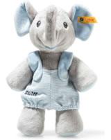 Steiff éléphant Trampili 24 cm gris/bleu 241673