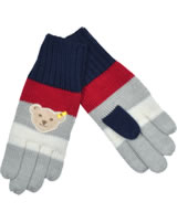 Steiff Fingerhandschuhe RED AND BLUE WINTER patriot blue 1921135-6033