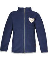 Steiff Fleece-Jacke m. Kragen RED AND BLUE WINTER patriot blue 1921124-6033