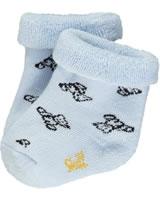 Steiff baby socks Teddy winter sky 2011905-3023