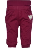Steiff Gefütterte Bund-Hose ROSE DENIM beet red 1922230-4010