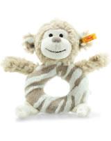 Steiff grip toy Monkey Bingo 14 cm light brun/cream 241871