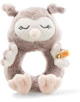 Steiff grip toy Owl Ollie 14 cm rosebrown 241864