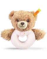 Steiff grip toy sleep well bear pink 239557