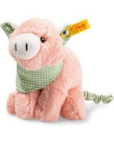 Steiff Happy Farm Schwein Piggilee mit Zappler 18 cm rosa 241192