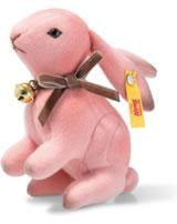 Steiff Hase Hazel 11 cm pink aufwartend 033025