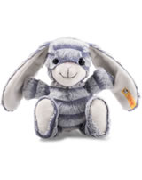 Steiff rabbit Hopps 23 cm grey/blue 080296
