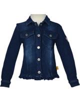 Steiff Jacket knitted Jeans NEW BASICS Mini Girl dark blue denim 6913019-0012