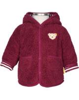 Steiff Jacket with hood ROSE DENIM beet red 1922210-4010