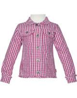 Steiff Jacket WILDFLOWERS Mini Girl with collar check 6913119-0002