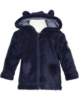 Steiff Cardigan with hood COSY BLUE patriot blue 1921329-6033