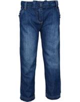 Steiff Jeans Hose WILDFLOWERS light blue denim 6913124-0014