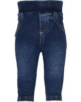 Steiff Jeans-Hose Wirk LITTLE HIBISCUS dark blue denim 6912006-0012