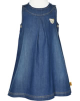 Steiff Jeans-Dress sleeveless HELLO SPRING dark blue denim 6913028-0012