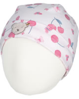 Steiff Hat BEAR AND CHERRY barely pink 2013244-2560