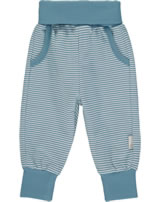 Steiff Jogger Pants BABY UNISEX ORGANIC adriatic blue 2012310-6045