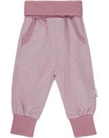 Steiff Jogger Pants BABY UNISEX ORGANIC mauveglow 2012310-3021