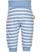 Steiff jogger Pants BEAR CREW stripes forever blue 2012106-6027