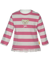 Steiff Hooded sweatshirt BEAR IN MY HEART fruit dove 2011123-2203