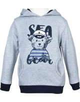 Steiff Hooded sweatshirt SEA BEAR soft grey melange 2012430-9007