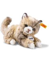 Steiff Katze Lucy 18 cm braun gefleckt liegend 099663