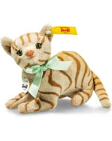Steiff Katze Mitzi 11 cm hellbraun liegend 031809