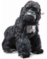 Steiff King Kong 42 cm Mohair schwarz stehend 355448