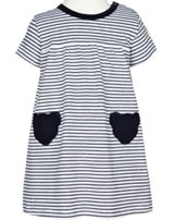 Steiff Dress short sleeve AHOI BABY stripes steiff navy 2012215-3032