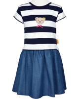 Steiff Dress short sleeve AHOI MINI! steiff navy 2012510-3032