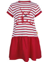 Steiff Dress short sleeve AHOI MINI! tango red 2012511-4008