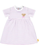 Steiff Dress short sleeve BEAR AND CHERRY bright white 2013245-1000