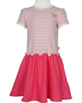 Steiff Dress short sleeves PARADISE PINK Mini Girl stripe 6833328-0001