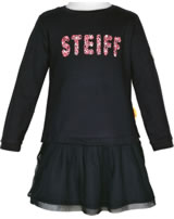 Steiff Dress long sleeve HEARTBEAT black iris 2011325-3032