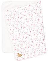 Steiff Blanket jersey BEAR IN MY HEART barely pink 2011127-2560