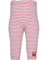 Steiff Leggings AHOI BABY stripe tango red 2012219-4008