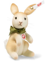 Steiff Mini Hase 10 cm hellbraun aufwartend 006784