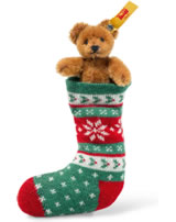 Steiff Mini Ours en chaussette 8 cm mohair brun 026775