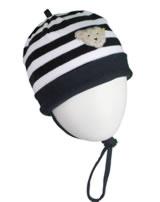 Steiff Bonnet BASIC marine 0002850-3032