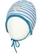 Steiff Mütze BEAR BLUES Streifen faience 2011222-6042
