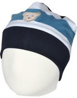 Steiff Mütze BEAR BLUES Streifen steiff navy 2011217-3032